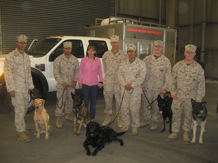 San Francisco Fleet Week, Marine Military Working Dog exhibit with Vets Adopt Pets Founder, October 7, 2012  Vets Adopt Pets provides much information on Military Working Dogs, their history, their importance, how to adopt them and more...